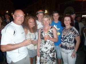 Familien Wotschka und Trumbetas