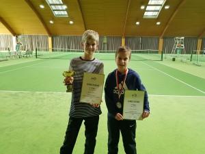 Radim und Dominik nach der Siegerehrung